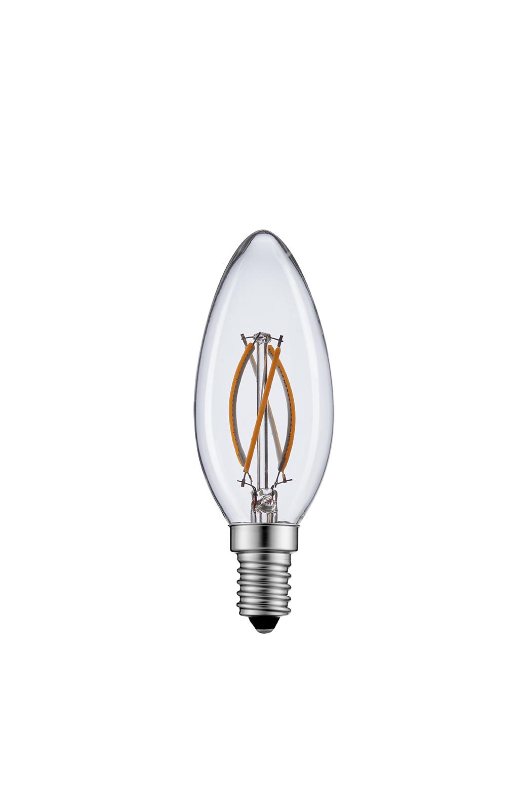 Graphene Curved Filament Bulb C35 – Graphene Lighting