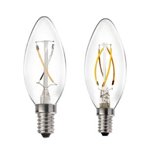 C35 Curved Filament Bulb – Graphene Lighting